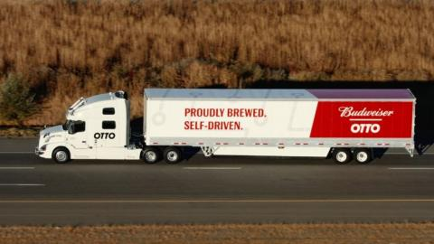 Otto's self-driving semi-truck made a beer run | Fox News