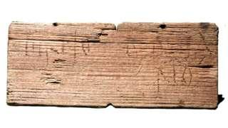 UK's oldest hand-written document 'at Roman London dig' - BBC News