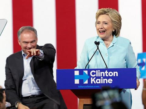 Team of Grifters: Tim Kaine Reinforces 'Crooked' Hillary's Weaknesses on Cronyism, Corruption - Breitbart