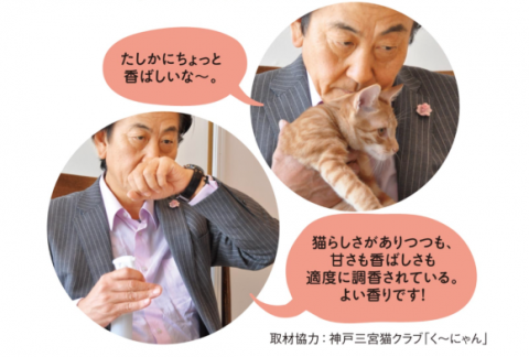 """Japan finally bottles """"the scent of a cat's forehead""""—now available to spray on yourbelongings! 